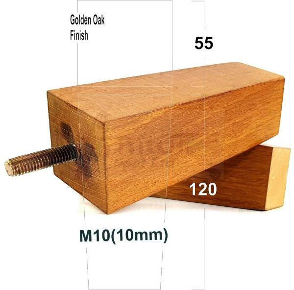 4x Replacement Wood Furniture Sofa Legs, Feet For Furniture Legs